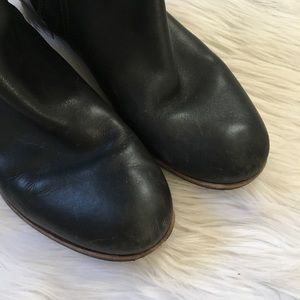 UGG Shoes - UGG Black Leather Buckle Riding Boots